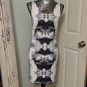 NWT Forever 21 ink mirror dress